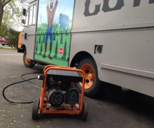 generator for food trucks