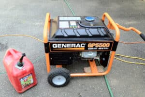 grounding a portable generator