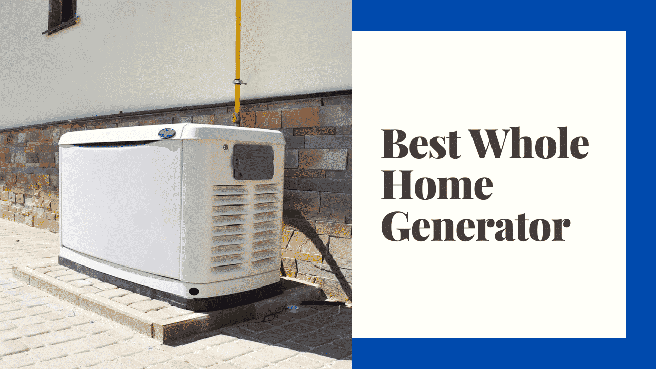 whole home generator