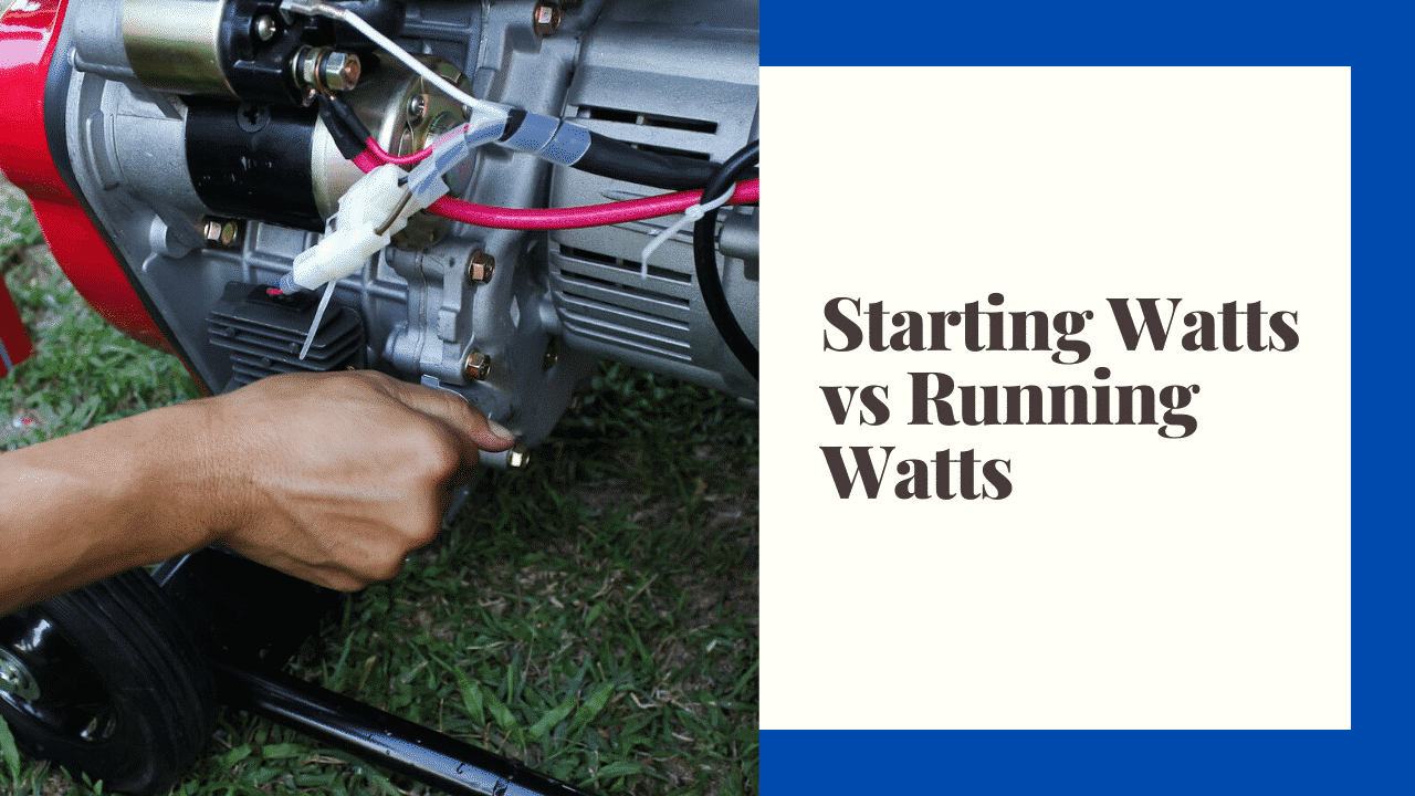 starting watts vs running watts